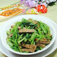 香糕炒芹菜