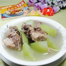 蒲瓜龙骨汤