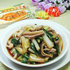 大蒜猪肚炒白菜