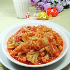 泡菜炒花菜