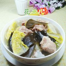 海带白菜排骨汤