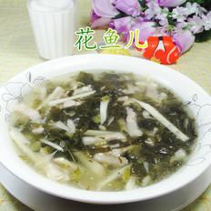 五花肉雪菜冬笋汤