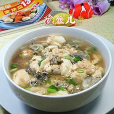 牡蛎煮豆腐