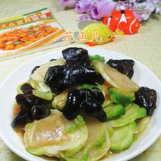 黑木耳炒儿菜