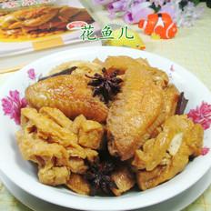 兰花豆腐干烧中翅