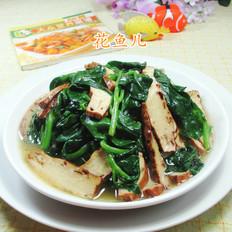 香干炒木耳菜