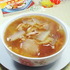 榨菜肉丝冬瓜汤