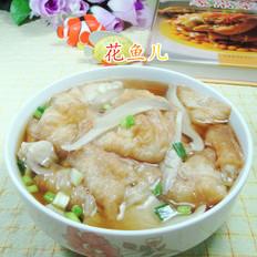 平菇油条汤