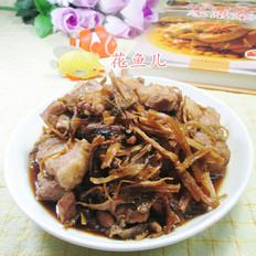 笋干菜烧五花肉