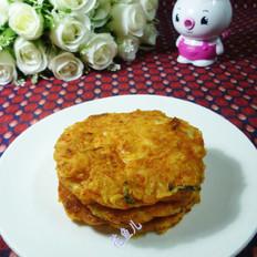 虾仁泡菜煎饼