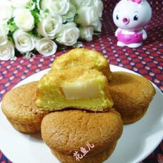 椰子软糖夹心小蛋糕