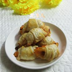 芝士火腿肠飞饼卷