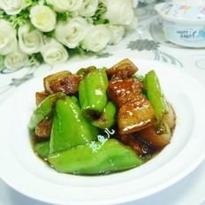 青椒烧五花肉