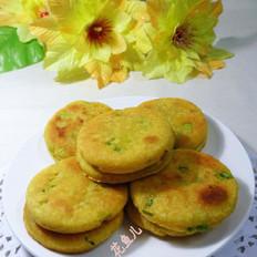 香芹玉米面煎饼