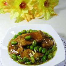 咖喱毛豆小素鸡