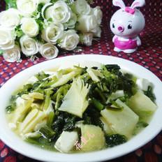 咸菜豆腐煮冬笋