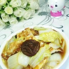 香菇荷包蛋娃娃菜