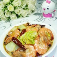 鲜虾娃娃菜