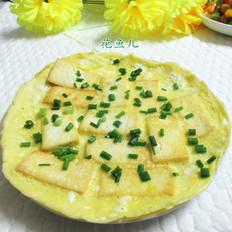 鸡蛋抱老豆腐
