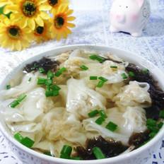 紫菜虾皮多肉馄饨