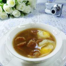 鸽子蛋桂圆甜汤