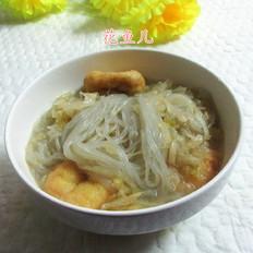 油豆腐酸菜煮粉条