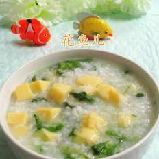 樱玉豆腐菜粥