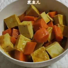 咖喱千页豆腐甘笋