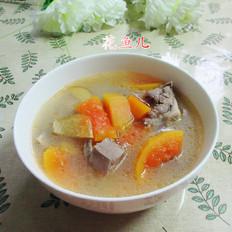 肉骨木瓜汤