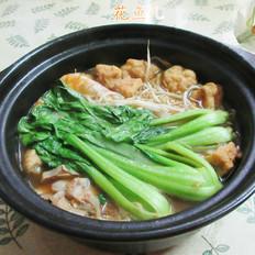 什锦红薯粉条砂锅