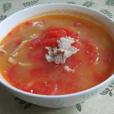 西红柿里脊肉汤