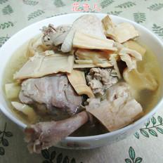 鸭子笋干汤