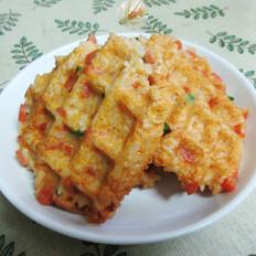火腿肠鸡蛋米饭饼