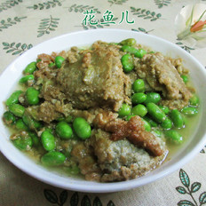 臭豆腐毛豆