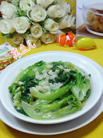 蒜香生菜的做法