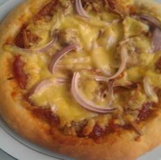 香肠香干披萨