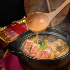 火腿菌菇鸡汤