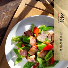 淡火腿炒青椒