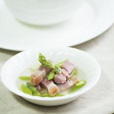火腿芦笋汤