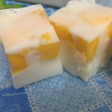 椰汁芒果糕