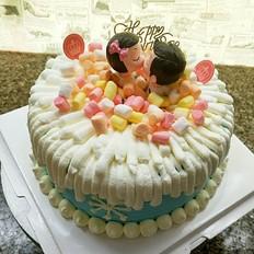 甜甜的吻蛋糕