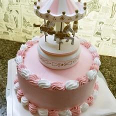 旋转木马蛋糕