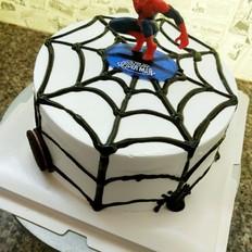 蜘蛛侠蛋糕