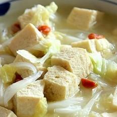 酸菜冻豆腐炖粉条