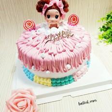 洗澡娃娃蛋糕