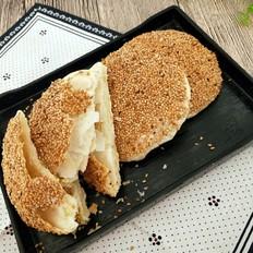 葱香芝麻烧饼的做法