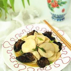 杏鲍菇炒木耳