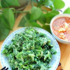 菠菜菜疙瘩