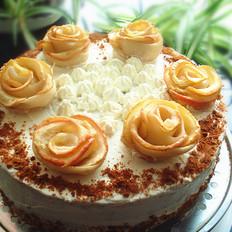 苹果玫瑰蛋糕