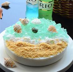 酸奶海洋慕斯